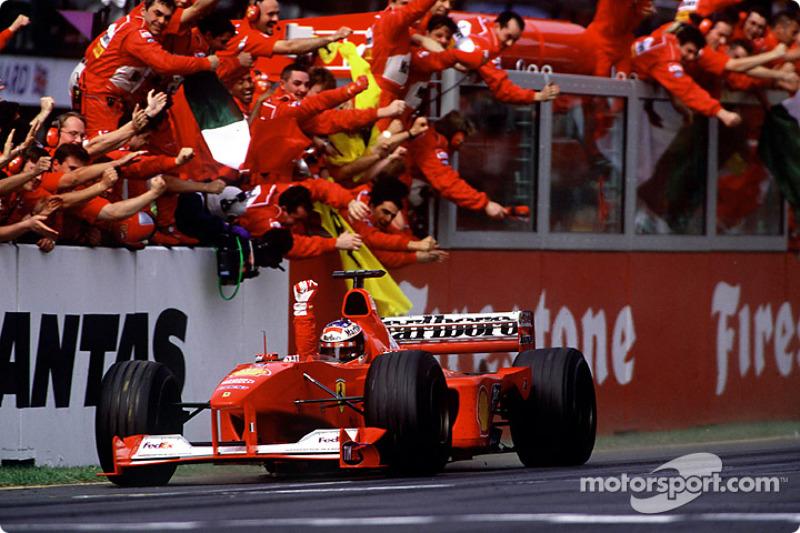 Michael Schumacher remporte le GP d'Australie