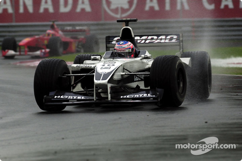Now the rain is really falling: Jenson Button
