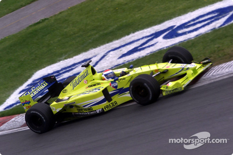 Marc Gene and the Minardi