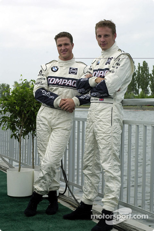 Ralf Schumacher and Jenson Button