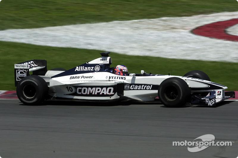 Jenson Button conociendo la pista