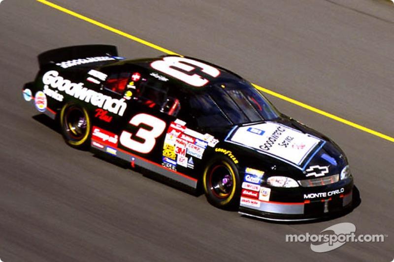 Dale Earnhardt und die schwarze 3