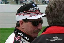 Dale Earnhardt antes de la clasificación
