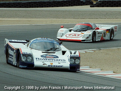 Deux Porsche 962