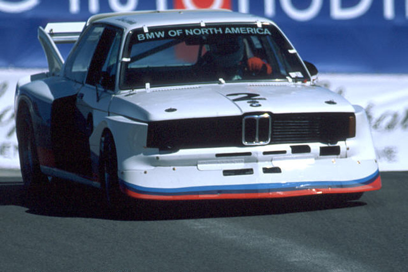 David Hobbs in a 1977 BMW 320 Turbo