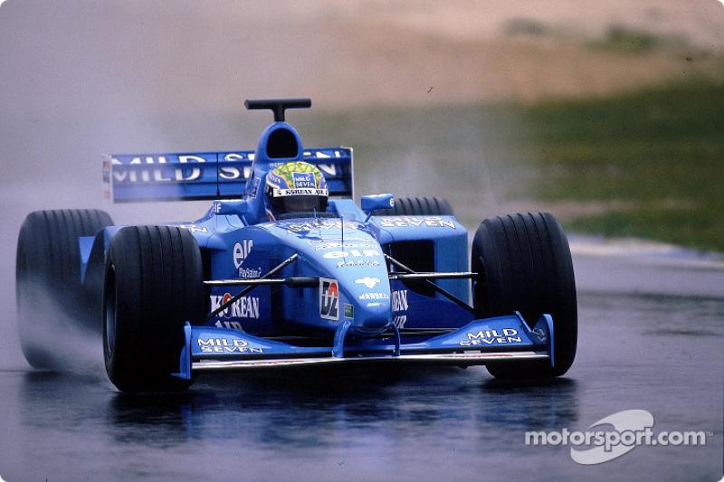 2001 - Test con Benneton