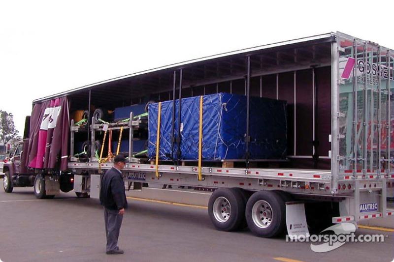 La Fórmula 1 llega en camión