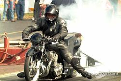 Pro Mod Kawasaki burnout