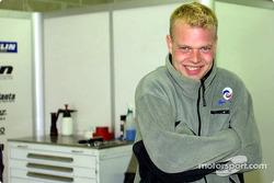 Jan Magnussen, pilote Panoz Motor Sports