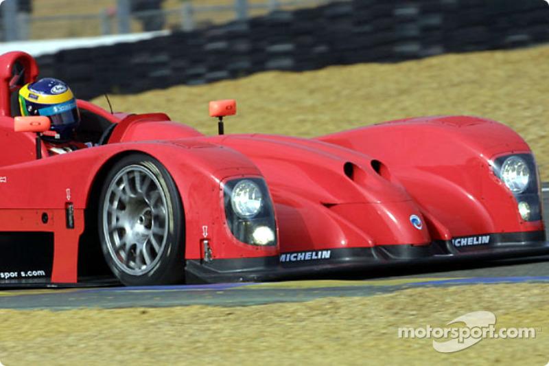 David Brabham en el Panoz