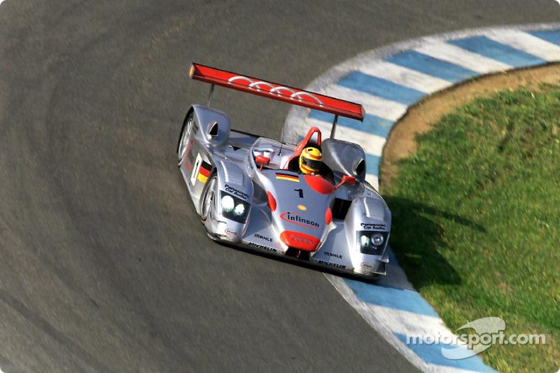 Frank Biela en el Infineon Audi R8 #1