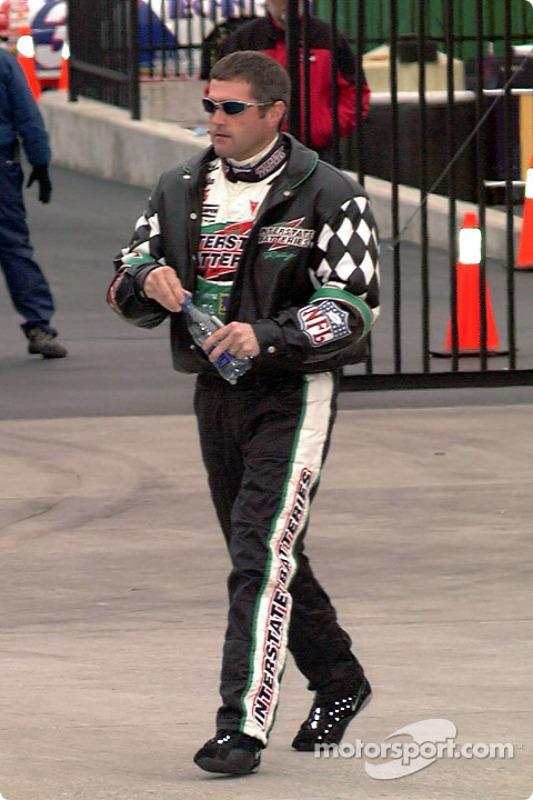 Bobby Labonte on pit lane