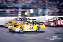 Matt Kenseth, Steve Park y Dale Earnhardt, Jr