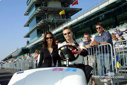 Kara and Buddy Lazier