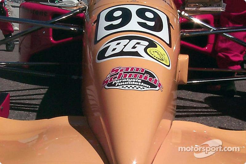 99 car's nose