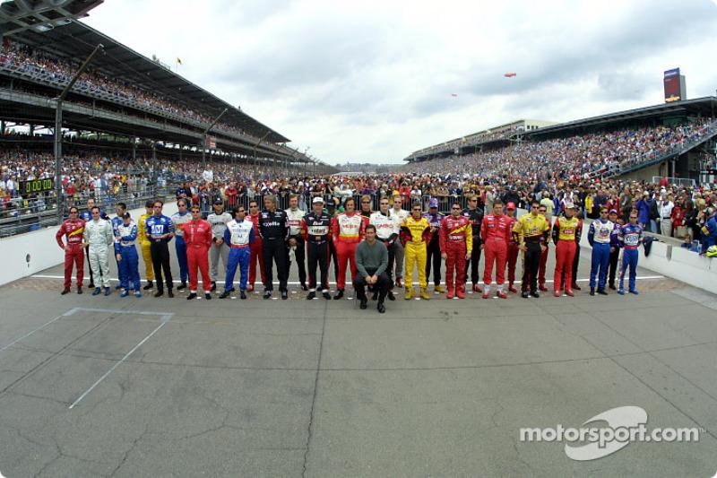 Pilotes de la 85e édition des 500 Miles d'Indianapolis