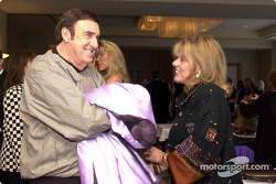 Lynn St. James et Jim Nabors