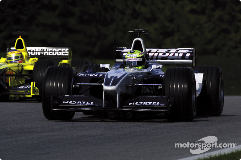 Jarno Trulli and Ralf Schumacher