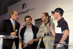 BMW WilliamsF1 Team Fashion Show: Hans Stuck, Dr. Mario Theissen, Gerhard Berger and Ralf Schumacher