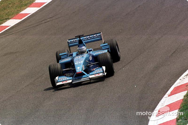 Giancarlo Fisichella au GP d'Espagne