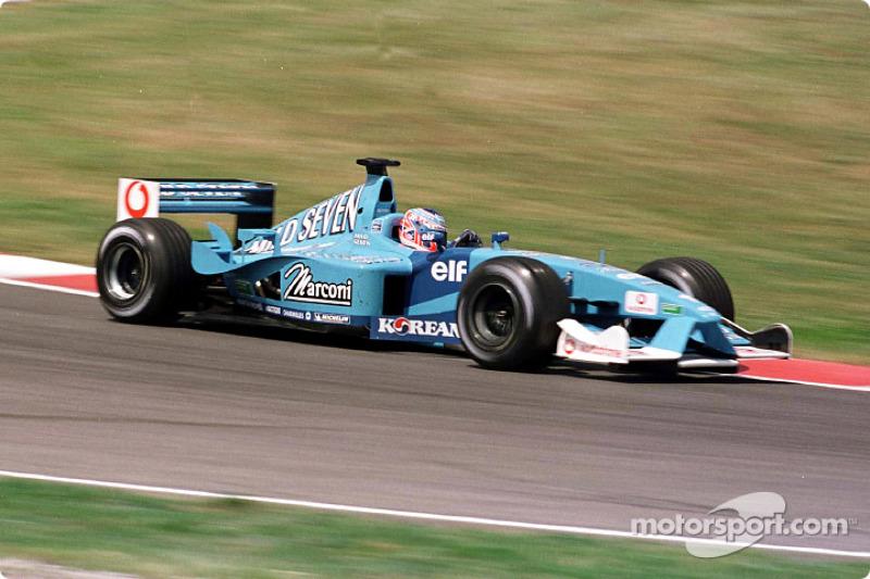 Año 2001 - Barcelona - Benetton Renault