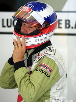 Olivier Panis avant la course
