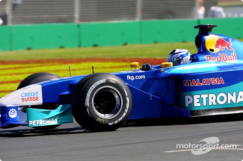 2001 год, Гран При Австралии, Кими Райкконен, Sauber, 6-е место