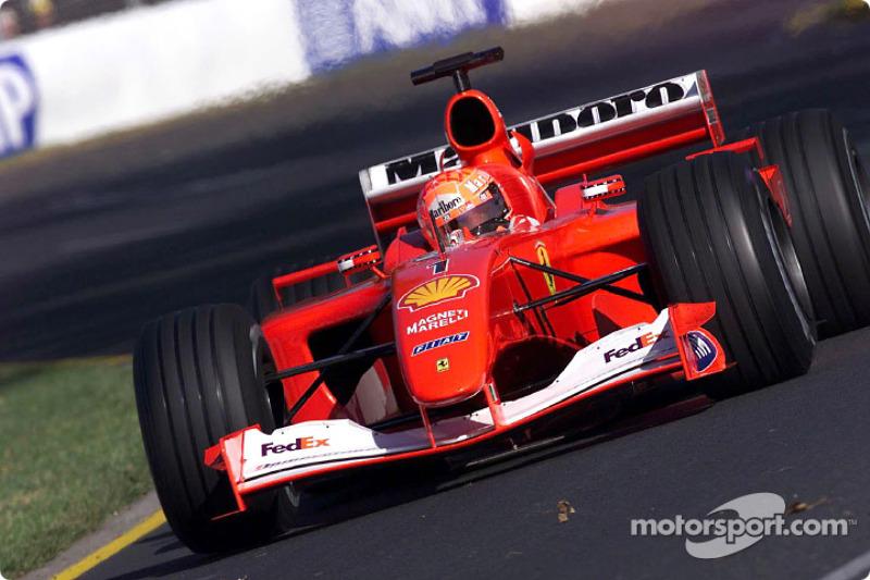 2001 Australian GP, Ferrari F2001