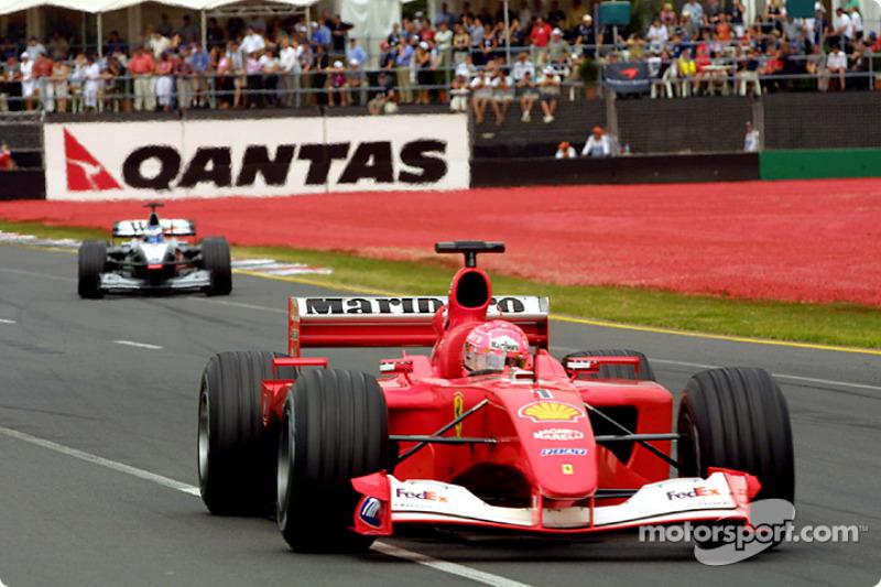 Michael Schumacher y Mika Hakkinen