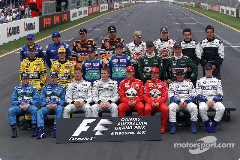 Участники сезона-2001