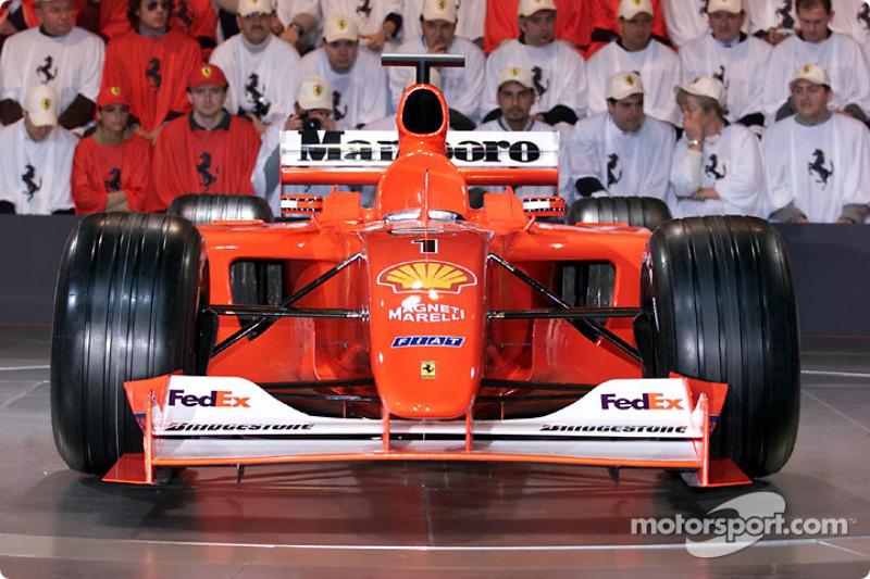 Носовий обтічник Ferrari F2001