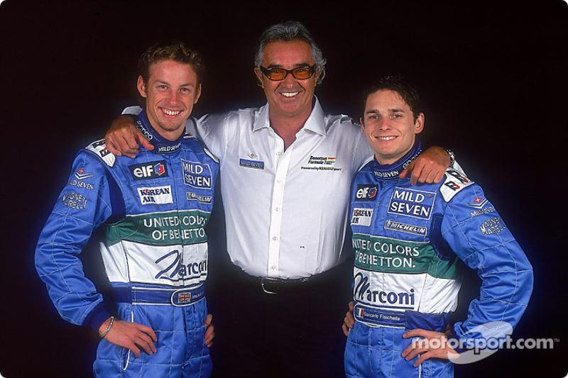 2001: Weiter geht's mit Benetton