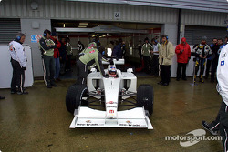 Olivier Panis en el BAR Honda 003