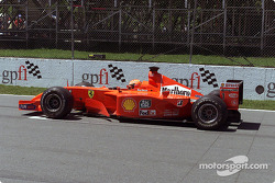 Start simulation for Michael Schumacher