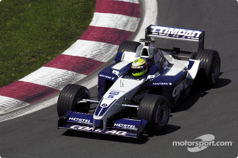 2001 - Ralf Schumacher, Wiliams