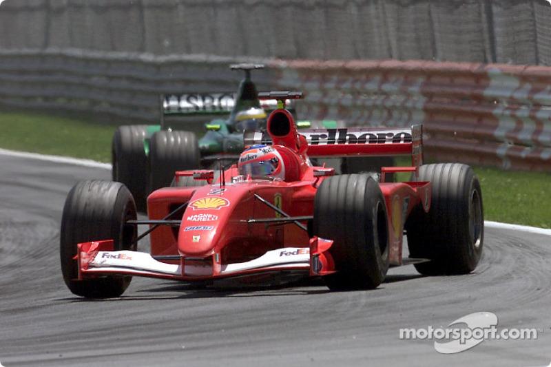 Rubens Barrichello and Pedro de la Rosa