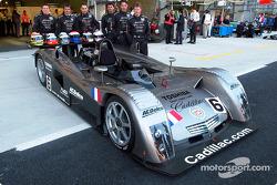 Cadillac Motorsports and the Cadillac Northstar LMP: Eric Bernard, Emmanuel Collard, Marc Goossens, Wayne Taylor, Max Angelelli and Christophe Tinseau