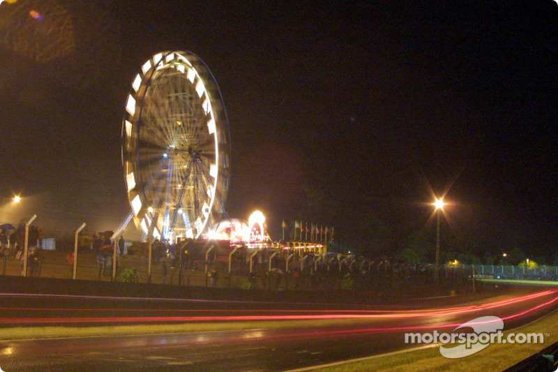 Into the night in Le Mans