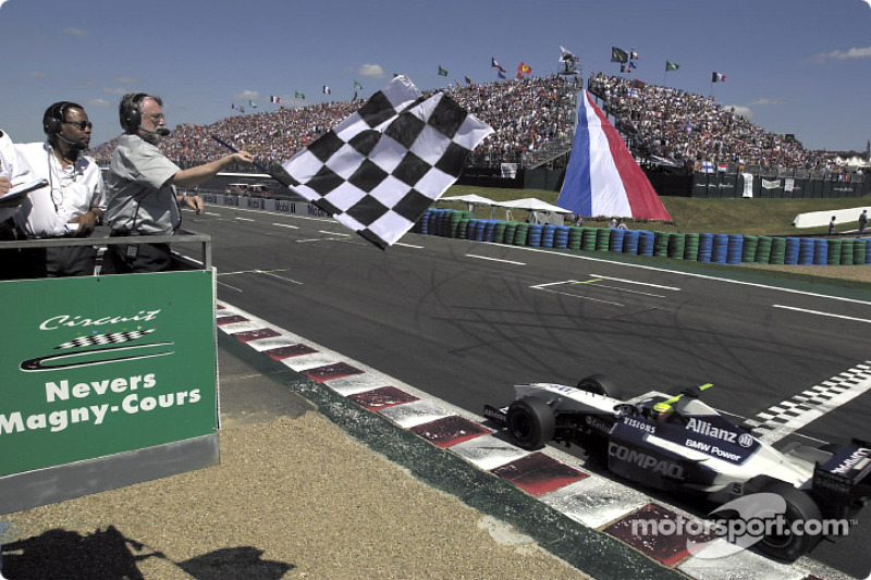 A 2nd place for Ralf Schumacher