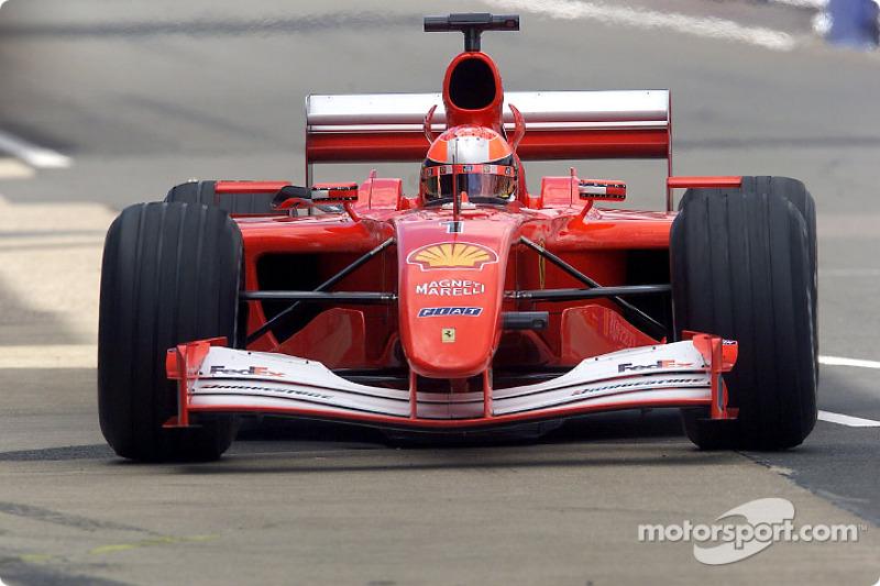 Гран При Великобритании 2001