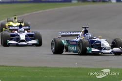 Kimi Raikkonen and Nick Heidfeld