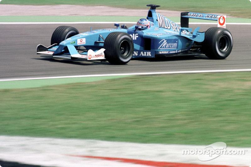 Jenson Button au GP d'Allemagne