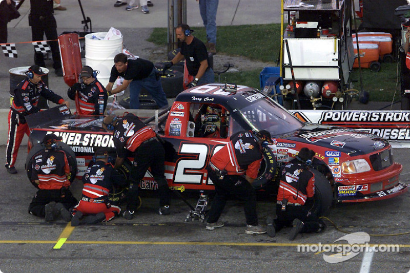 Pitstop for Terry Cook