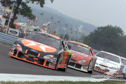 Ricky Rudd leads Elliott Sadler into the inner loop