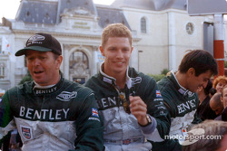 Martin Brundle, Guy Smith and Stéphane Ortelli