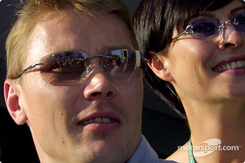 Mika and Erja Hakkinen