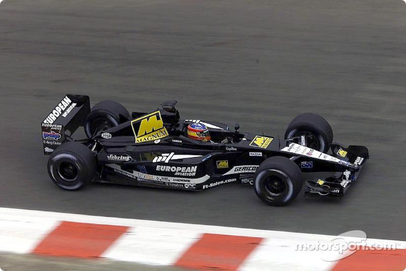 Fernando Alonso - F1 2001 - Minardi