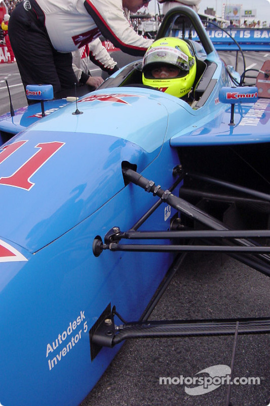 Christian Fittipaldi on the grid