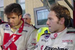 Christian Fittipaldi and Cristiano da Matta