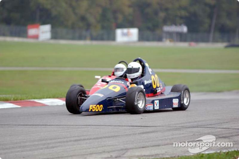 Race 3, Formula 500: Ron Hyman